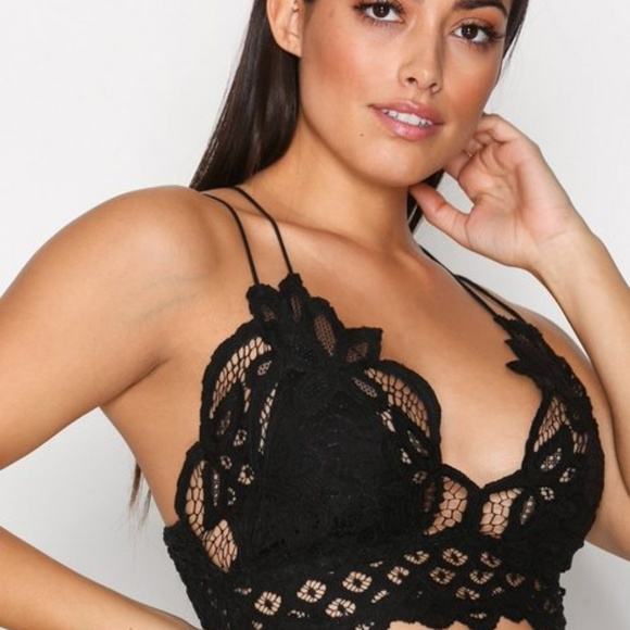 047d204059 Free People Other - Free People Adella Bralette Black